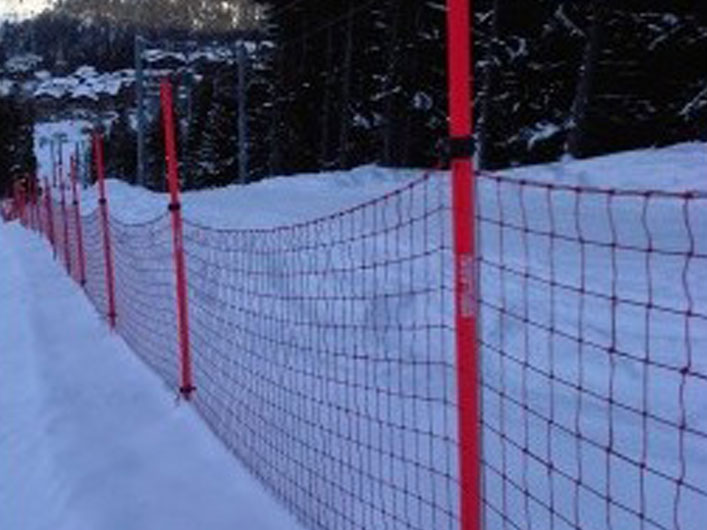 Polyethylene Ski Protection Net