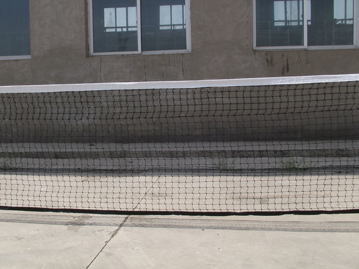 Polyethylene Twist Rope Tennis Net