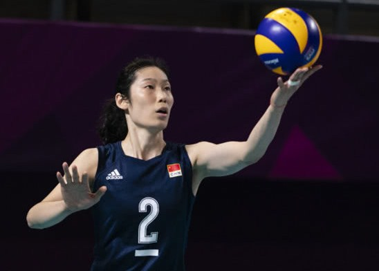 Chinese And Thai Women's Volleyball Team Asian Games Confrontation